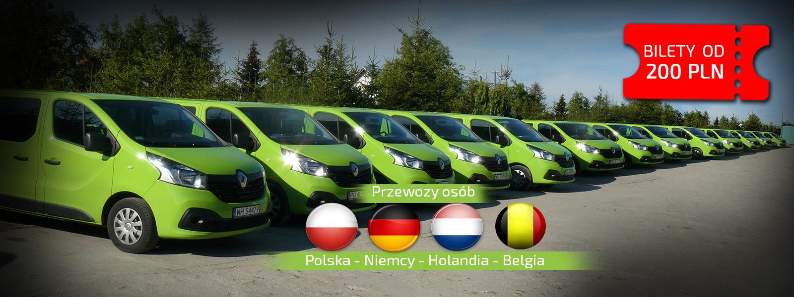 BUSY POLSKA HOLANDIA